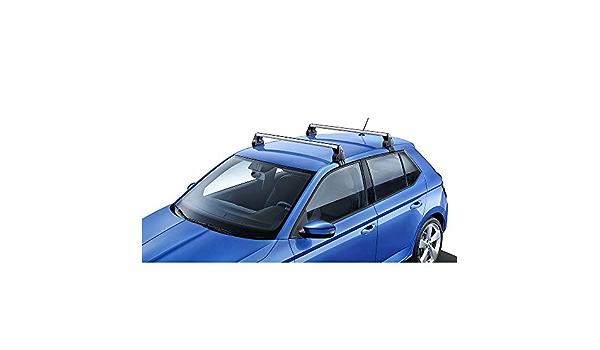 Skoda 6v6071126 Dachgepäckträger Tragstäbe Grundträger Dachträger Nur Limousine Schrägheck Auto
