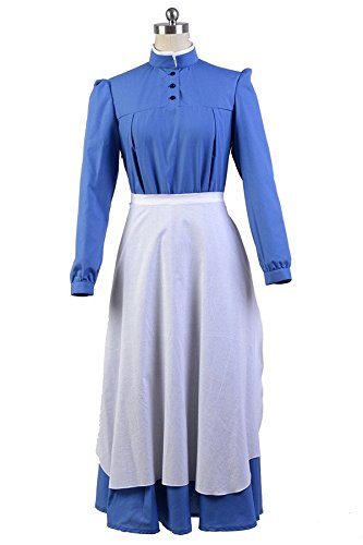 Howl's Kostüm Castle Moving - Howl's Moving Castle Sophie Dress Cosplay Kostüm Damen L