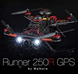 Qwinout Walkera Runner 250 Fortschrittliches GPS-System RC-Drohne Quadkopter RTF mit DEVO 7 Fernbedienung / OSD / Kamera / GPS V4 (800TVL Kamera)