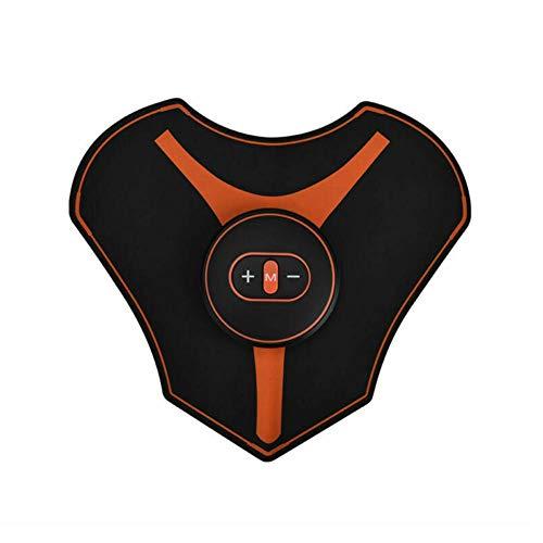 Brownrolly Schultermassagegerät USB Nackenmassagegerät Rückenmassagestab zur Muskelentspannung und Schmerzlinderung
