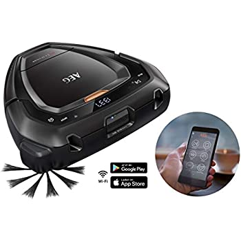 Aeg Rx9 Robot Vacuum Cleaner With Navigation System 3d