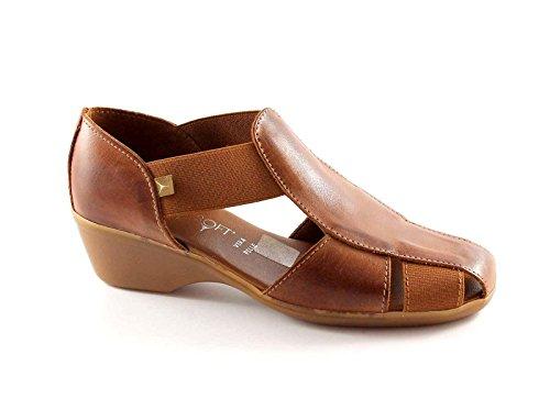 Cinzia Soft 8050z Barck Chaussures Femmes Sandales Comfort Marron