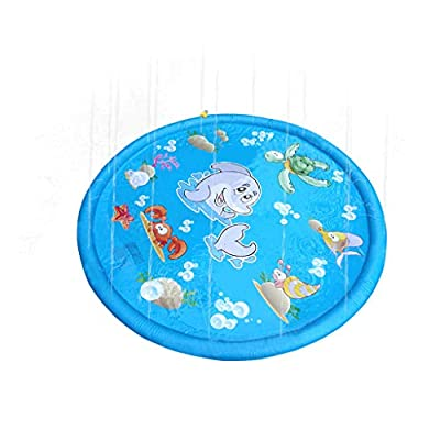 Best Sale Wormeng Kids Water Sprinkler Inflatable Pad Play Mat Diameter Sprinkle Play Mat For Homekitchengardenoutdoor Play from WORMENG