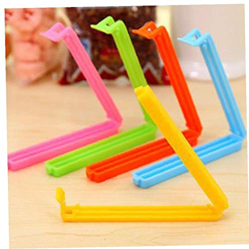 Bolsa 5pcs / Set Fuerte Alimentos sellada Clips plástico