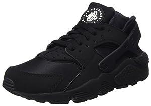 Nike Air Huarache, Herren Fitnessschuhe, Mehrfarbig (Black / Black-white), 38.5 EU
