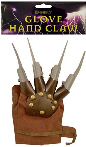 GREIFER HANDSCHUH WOLVERINE SPIKES FREDDY KRUEGER ALPTRAUM HALLOWEEN KOSTÜM - Hand Klaue Handschuh