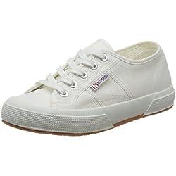 Superga 2750-PLUS Cotu, Sneakers Unisex - Adulto, Bianco (White), 38 EU
