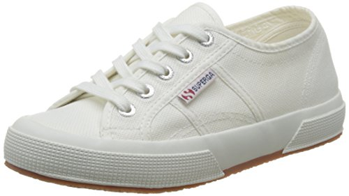 Superga Unisex-Erwachsene 2750-Plus Cotu Pumps, Wei, 41 EU