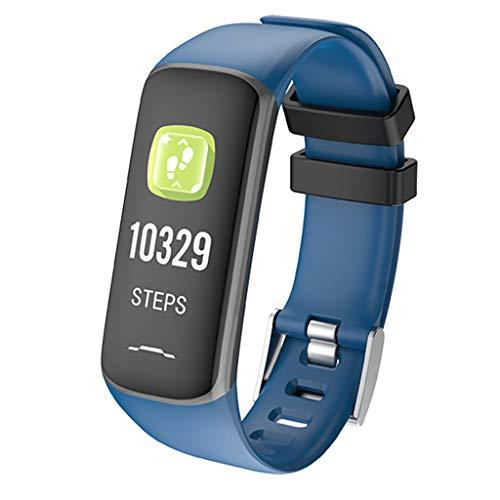 Hunpta@ Intelligente Armbanduhr, Herzfrequenz-Monitor, wasserdicht, IP67 für Android/iOS