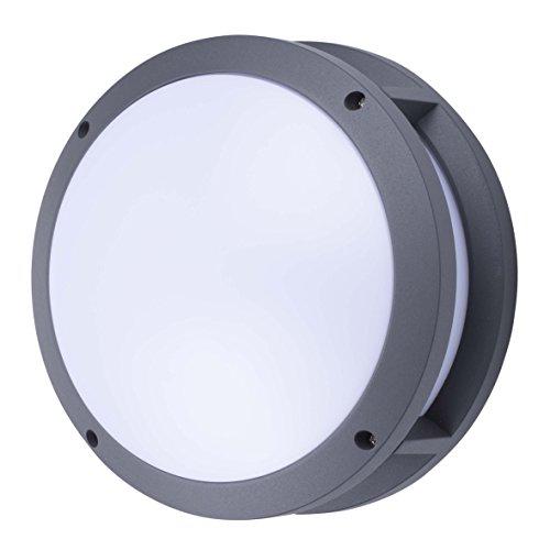Smartwares GWL-001-HS Pete Außenbeleuchtung – Integrierte LED-Leuchte – Zahlenaufkleber