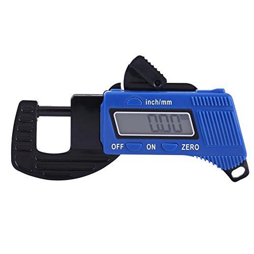 0-12mm Medidor de Espesor con Pantalla Digital Medidor de Pinza Medidor de Anchura de 0.01mm Resolución