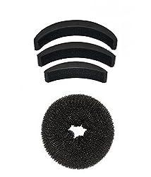 Donut Medium and set of 3 hair puff High Hair Volumizer Bumpits