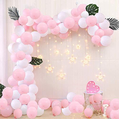 uftballons, 100 Stück Premiumqualität Latex Luftballons für Geburtstagsfeier Hochzeit Party und Baby Dusche Party, Baby Shower,Festival Dekoration ()