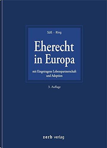 Eherecht in Europa