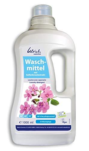 Natürliche Waschmittel (Ökologisches Waschmittel mit Seifenkraut 1l - Neu - Ulrich natürlich)