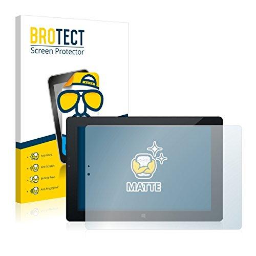 2X BROTECT Matt Bildschirmschutz Schutzfolie für Odys Windesk X10 (matt - entspiegelt, Kratzfest, schmutzabweisend)