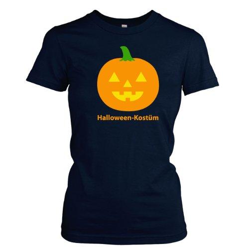 TEXLAB - Halloween Kostüm - Damen T-Shirt Dunkelblau
