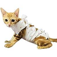 Firik - Reha-Anzug für Haustiere, aus Baumwolle - zur Verwendung nach der Sterilisation - Kleidungsstück für Hunde oder Katzen
