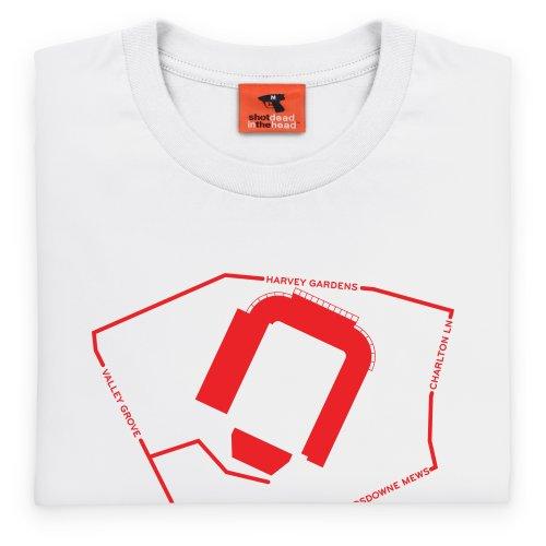 The Valley T-Shirt, Herren Wei