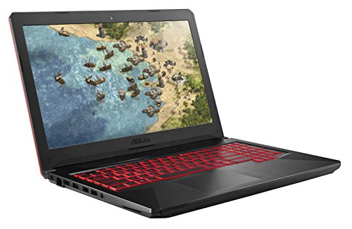 ASUS FX504GD 15.6-inch Full HD Wide-Angle Gaming Laptop (Black) - (Intel i5-8300H Processor, 8 GB RAM, 1 TB HDD + 256 GB SSD, Nvidia GTX 1050 4 GB, Windows 10)
