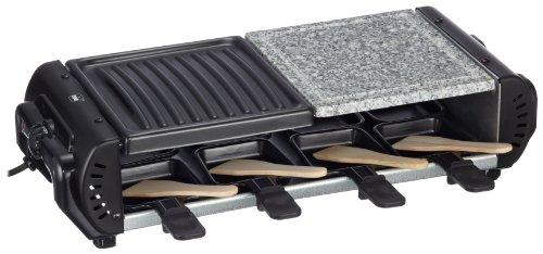 Mia RG 8388 Raclette- und Barbecuegrill mit Grillstein
