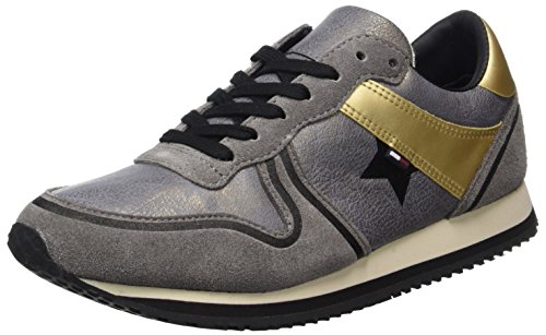 Hilfiger Denim Damen L1385agoon 1c2 Sneaker