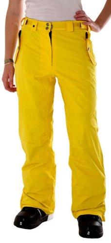 LIGHT Damen Snowboardhose Foo, yellow, XL, FA782-10_54