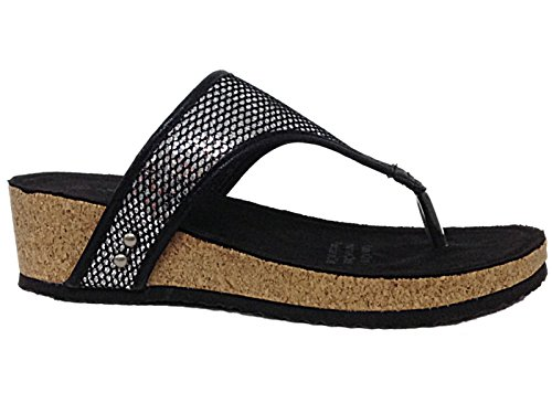 ladies-sprox-190463-sequin-toe-post-cork-effect-low-wedge-slip-on-flip-flop-summer-sandals-size-4-9-