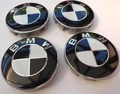 4x BMW SCHWARZ WEISS Logo 68mm Nabenkappen Nabendeckel Radkappen Felgendeckel Rad Vollständiger Satz Kappen Series 1 3 4 5 6 7 8 x1 X3 X4 X5 X6 Z3 Z4 36136783536 36131095361 36136768640 E36 E38 E39 E46 E53 E60 E61 E63 E64 E65 E66 E70 E71 E82 E83 E84 E85 E86 E88 E89 E90 E91 E92 E93 F01 F02 F10 F11 F12 F13 F15 F20 F22 F23 F25 F26 F30 F31 F32 F33 F34 F36 F48 F80 F82 F83 F85 F86 F87 F90 F97 F98 und weitere Modelle (Schwarz Weiß Und Logo)