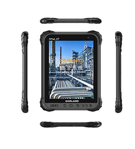 Dorland XPad-07 Industrie-Explosionsschutz-Pad, eigensicher für Öl- und Gasindustrie und gefährliche Bereiche, IP67, wasserdicht, staubdicht, stoßfest, 4G, Android 8.1, GPS-Navigation Eigensichere