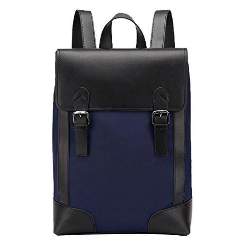 Oxford-Tuch Männer Rucksack Mode Große Kapazität Laptop-Rucksack Lässige Daypacks,29*14*38-blue