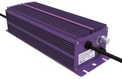 Lumatek - Balasto electrónico (4 niveles de intensidad, 400 W, para lámparas...