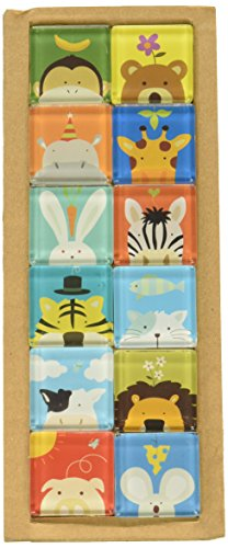 CREATIVE MOTION Animal Design Magnete, Set von 12 -