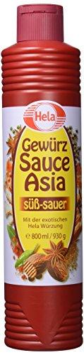 Hela Asia Gewürz Sauce 800 ml, 6er Pack (6 x 800 ml)