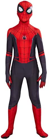 Kids Spider Man Far From Home Peter Parker Cosplay Costume Zentai Spiderman Superhero Bodysuit Suit Jumpsuits