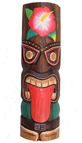 Tiki-Mscara-de-pared-de-madera-in-50cm-En-El-Hawaii-Estilo-Decoracin-Mscara-de-pared