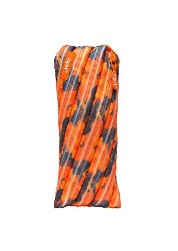 ZIPIT Camo Pencil Case, Orange ZIPIT Camouflage