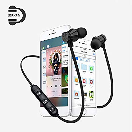 Veera Tech Wireless Headphones with Bluetooth 4.1 Sweatproof for Running/Hiking Compatible with Samsung J7/Prime/Pro/Plus (Assorted Color)