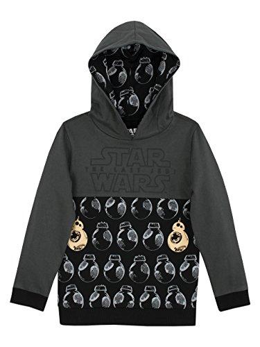 Star Wars - Sweat-shirts à capuche - Star Wars BB8 - Garçon - 7 a 8 Ans