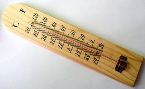 er mit Doppel Leiter aus Holz Haus Umwelt Außen Innen Grad + 50A-30°C Temperatur ()