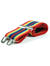 Retro Rainbow Fashion Braces - For occasional use