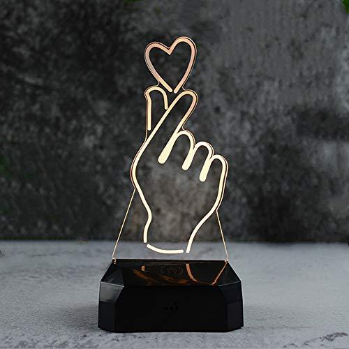 Quallen Licht Kostüm Mit - Aufladbares kreatives Licht der Note USB neues merkwürdiges intelligentes kreatives USB-rundes Nachtlicht als Herz USB, das buntes Licht der Note auflädt