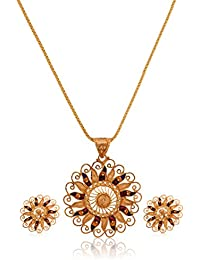 Senco Gold 22k Yellow Gold Jewellery Set - B016K33JHG