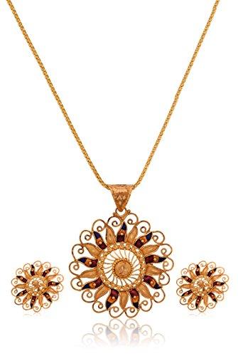 Senco Gold 22k Yellow Gold Jewellery Set - B016K33JHG