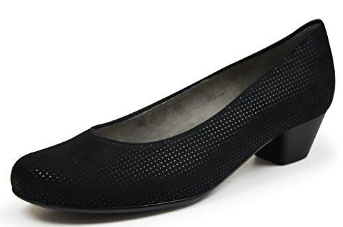 Jenny  2263613-71, Ballerines classiques femme Noir