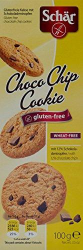 Dr. Schär - Choco Chip Cookie glutenfreie Schokoladenkekse - 100g