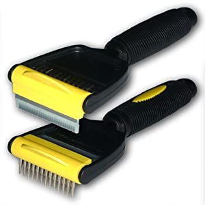 The 'Hair-Raiser 60' dog comb (brush) from paw-things