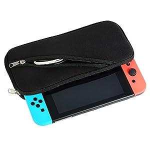 Goolsky Weiche wasserdichte Aufbewahrungstasche Tasche für Nintendo Switch