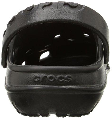crocs Unisex-Erwachsene Hilo Clog Schwarz (Black)