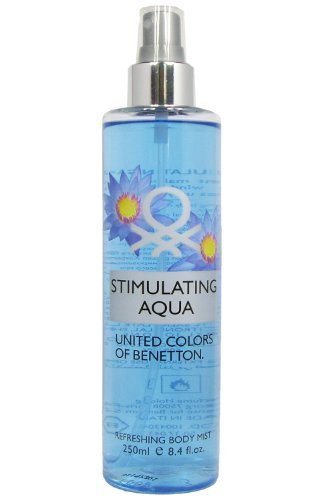 United Colors of Benetton Stimulating Aqua Refreshing Body Mist for Her 250 ml by United Colors of Benetton